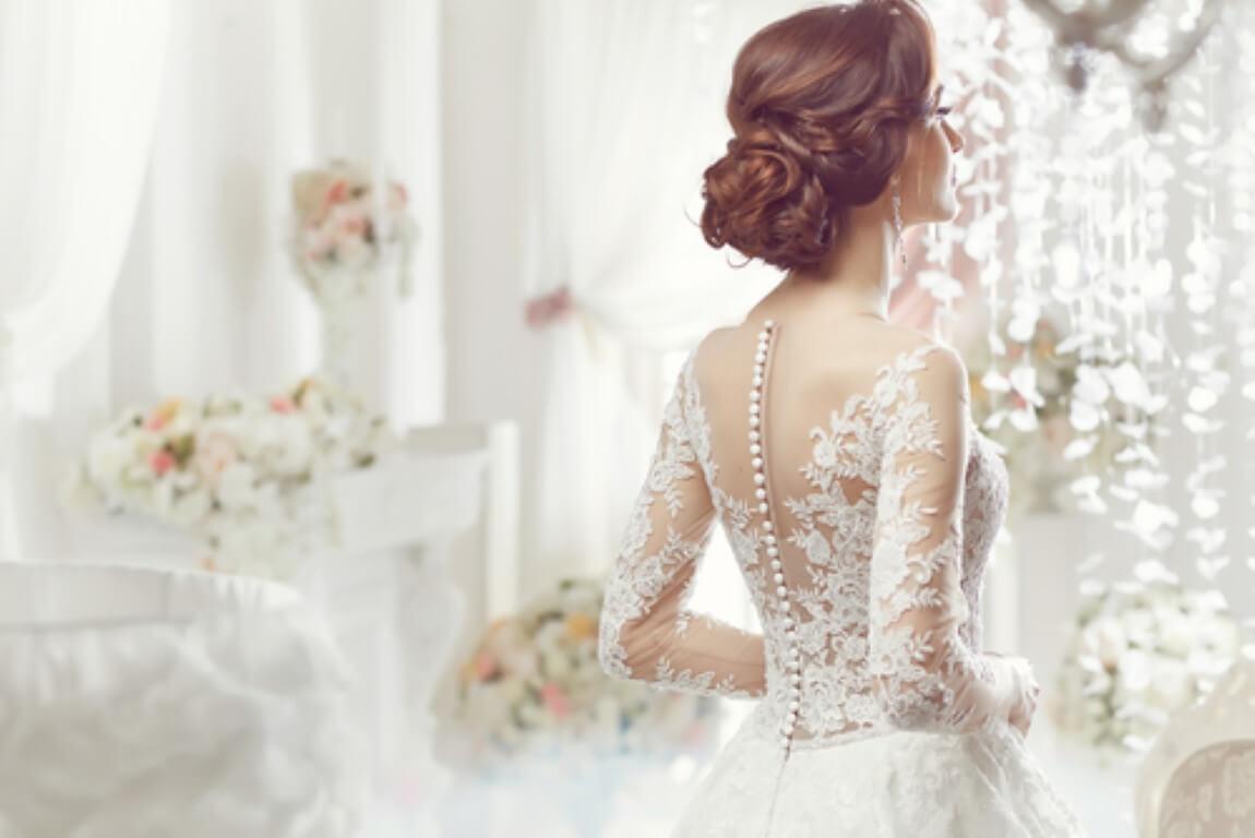 טרנד שמלות הכלה ויהלומים משובצים